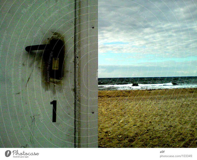 sommer?! Strand retten kalt Sommer Ostsee Wasser dlrg sonne?