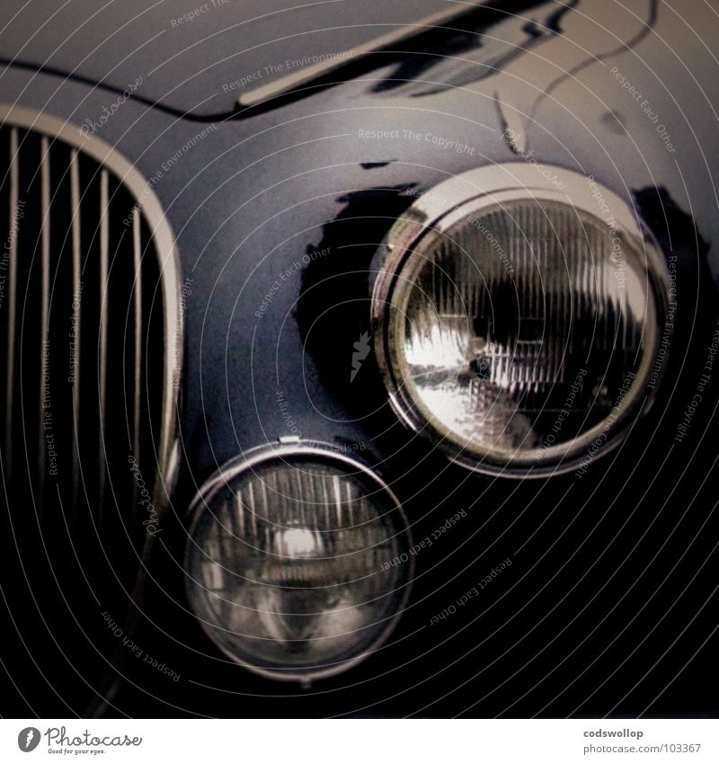 getaway driver Scheinwerfer Limousine Chrom Kühlergrill Saloon Verkehr Macht England bank robbers Sir William Lyons headlight Jaguar MK II PKW car motorenhaube