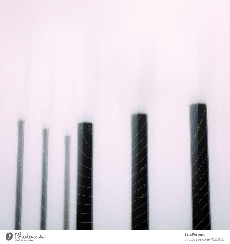 ||| | | | Himmel weiß schwarz Architektur Gebäude Linie Kunst Design Grafik u. Illustration Bauwerk Fabrik Doppelbelichtung Schornstein Industrieanlage