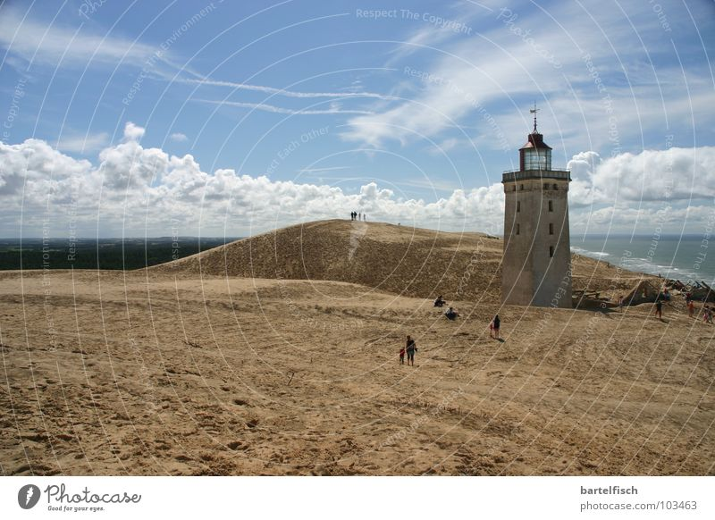Sandfeuer I alt Meer Haus Einsamkeit Wellen Wind Europa Sturm verfallen historisch Ruine Stranddüne Schifffahrt Leuchtturm Nordsee früher