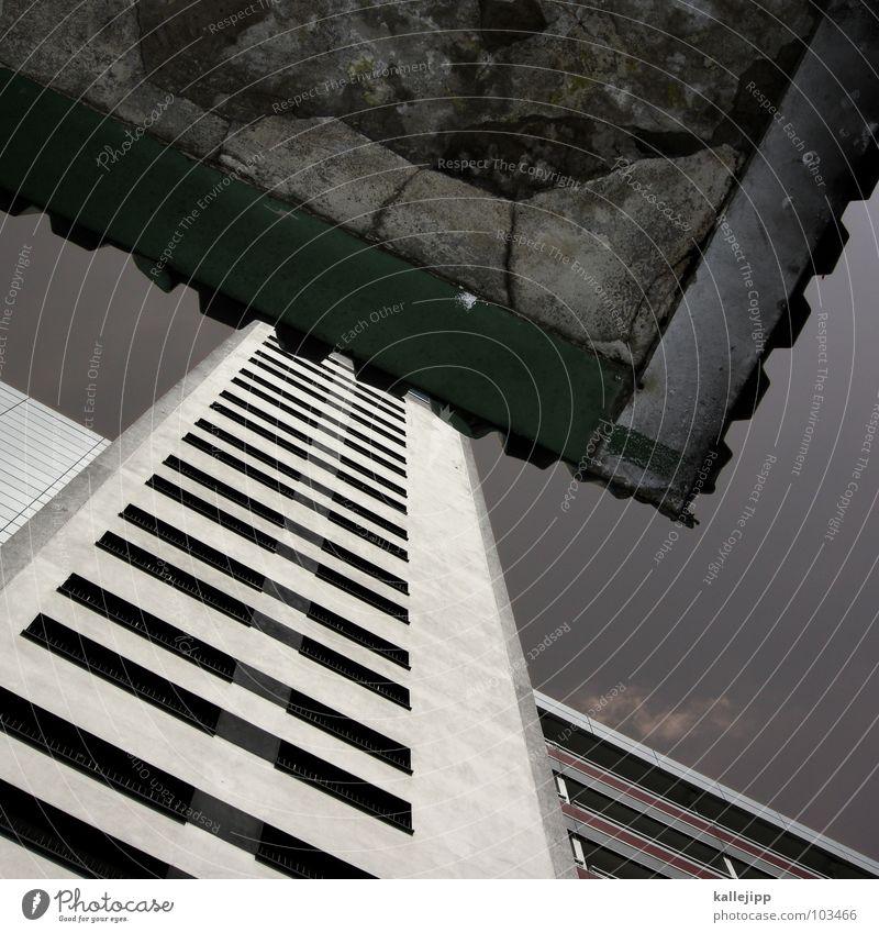L Himmel Stadt Leben Berlin Fenster Landschaft Architektur Raum Beton Hochhaus Fassade rund Niveau Dach Häusliches Leben Balkon