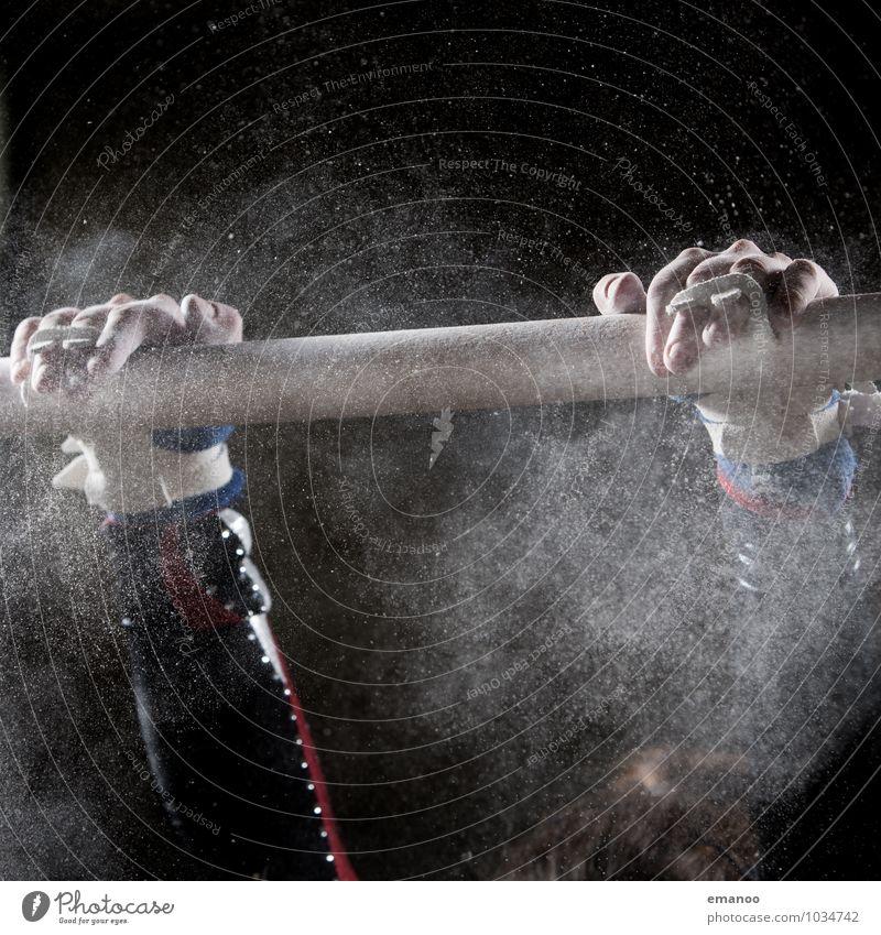 Fester Griff Gesundheit sportlich Fitness Freizeit & Hobby Sport Sport-Training Sportler Sportstätten Sportveranstaltung Mensch Frau Erwachsene Jugendliche Hand