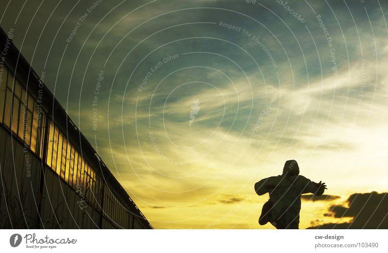 [b/w] white shaolin style - part IV Arbeitsanzug Quarantäne Labor Laborant Schutzanzug Anzug Sicherheit maskulin 2 Reflexion & Spiegelung wo Gelände