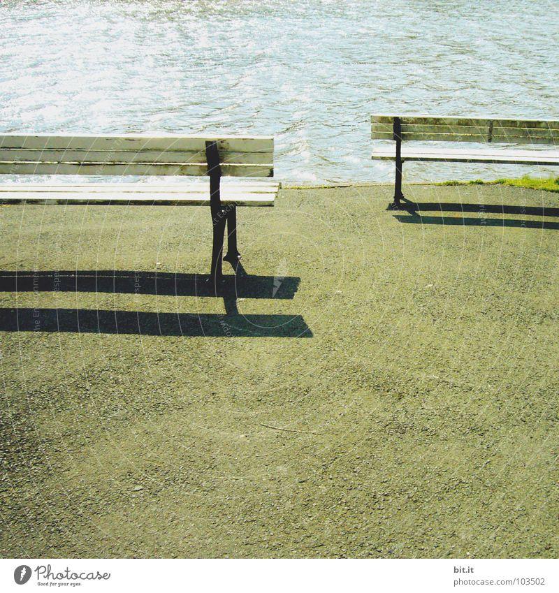 Schnaps mit zett Wasser Ferien & Urlaub & Reisen Meer ruhig Spielen Holz Wege & Pfade Sand See 2 hell Erde Zusammensein paarweise Brücke Bodenbelag