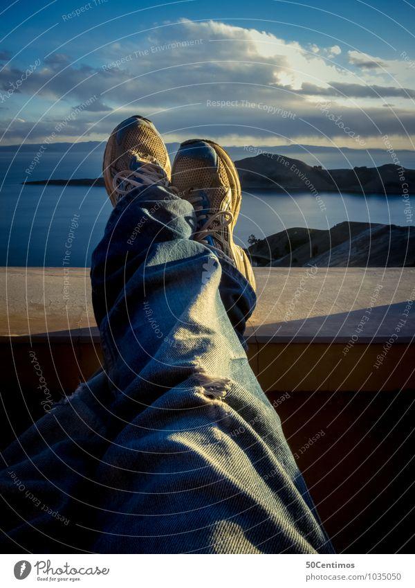 Einfach abschalten Wellness Erholung ruhig Freizeit & Hobby Ferien & Urlaub & Reisen Tourismus Ausflug Abenteuer Ferne Freiheit Camping Sommerurlaub maskulin