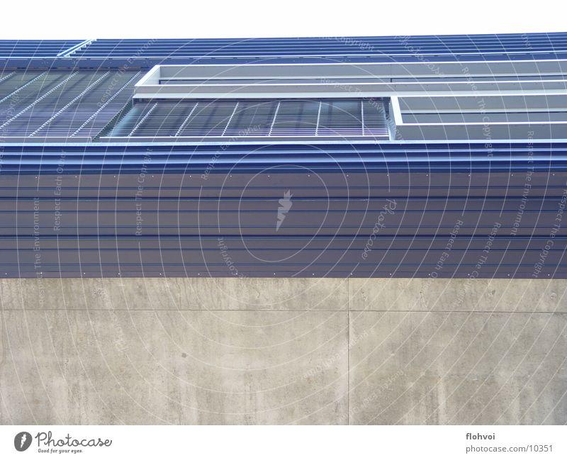profil Eingang interessant grau Beton Fenster Architektur Zaha Hadid bmw werk leipzig Reichtum blau Metall Kontrast Strukturen & Formen