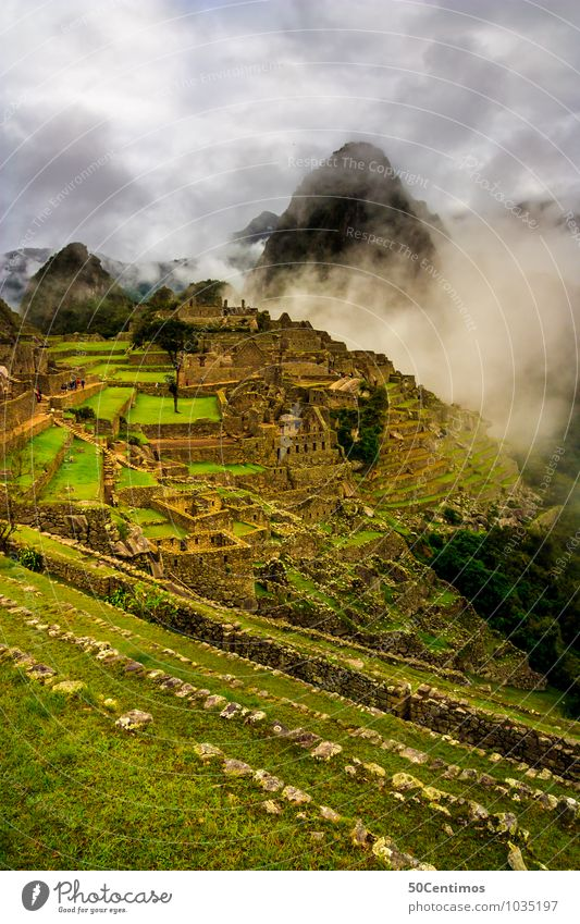 Clouds over Machu Picchu Natur Ferien & Urlaub & Reisen Pflanze Landschaft ruhig Ferne Berge u. Gebirge Umwelt Wiese Freiheit Tourismus Nebel wandern Wind