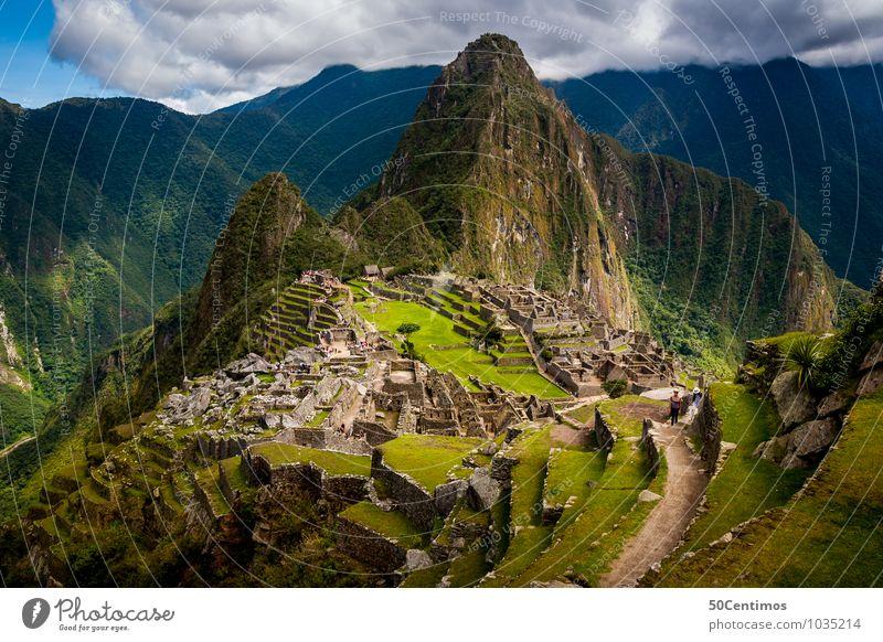 the energy Machu Picchu, Cusco Peru Ferien & Urlaub & Reisen Stadt Pflanze Landschaft Ferne Wald Berge u. Gebirge Wiese Freiheit Garten Park Tourismus groß