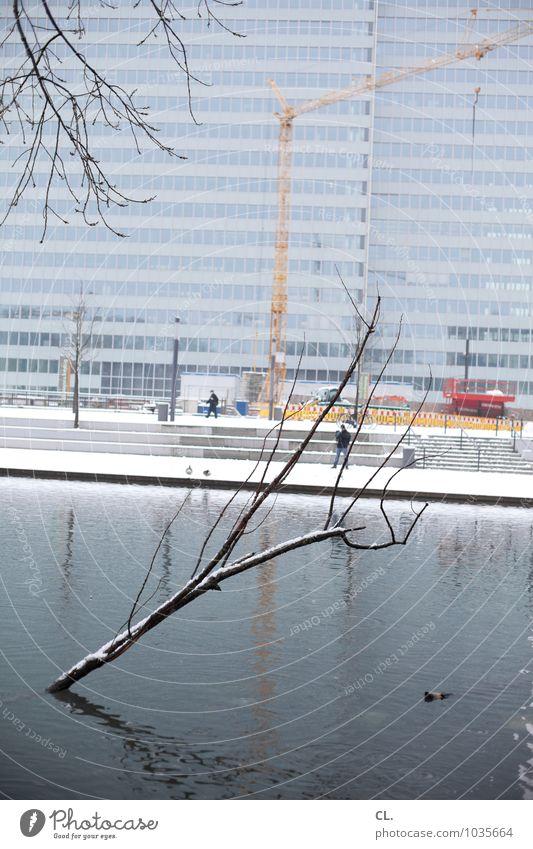 no schickimicki Natur Stadt Wasser Baum Winter kalt Umwelt Architektur Schnee Gebäude See Fassade Schneefall Park Eis Wetter