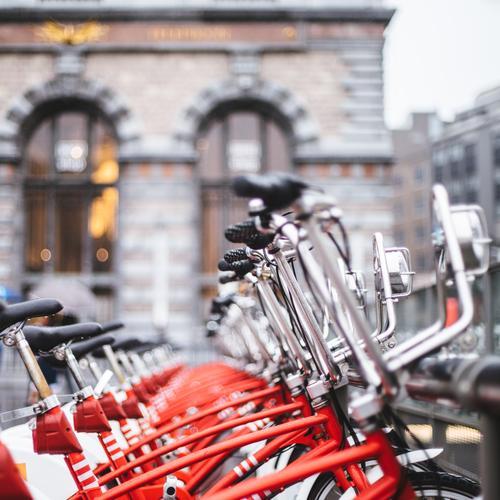 rent-a-bike Lifestyle kaufen Freizeit & Hobby Ferien & Urlaub & Reisen Tourismus Ausflug Sightseeing Städtereise Fahrradtour Sommer Sommerurlaub Verkehrsmittel