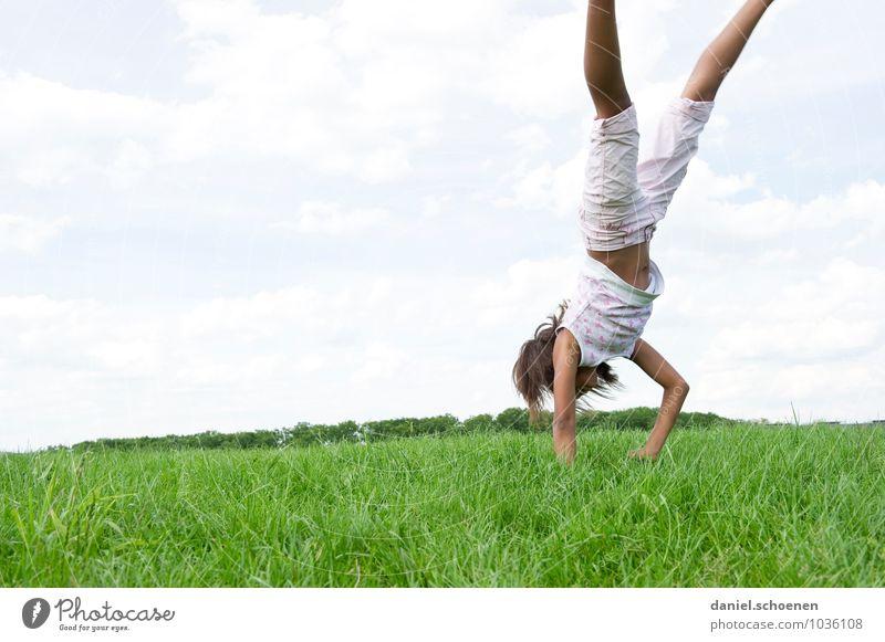 Frühling !! Mensch feminin Mädchen 1 8-13 Jahre Kind Kindheit Sommer Schönes Wetter Bewegung hell Gefühle Stimmung Freude Fröhlichkeit Lebensfreude