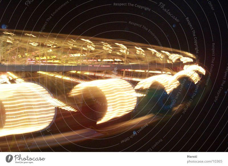 Riesenrad Beleuchtung Nacht Langzeitbelichtung Freizeit & Hobby