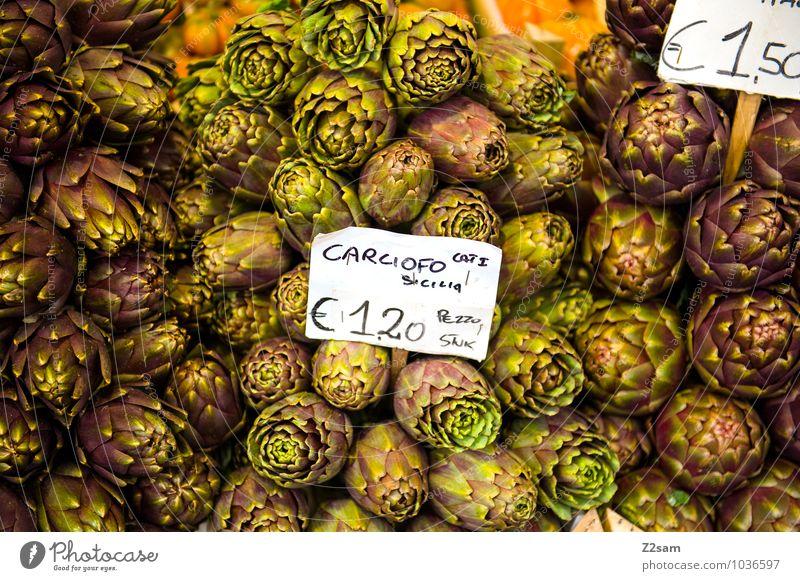 carciofo Lebensmittel Gemüse Ernährung Essen Pflanze frisch Gesundheit nachhaltig natürlich grün genießen Gesellschaft (Soziologie) Gesundheitswesen Natur rein