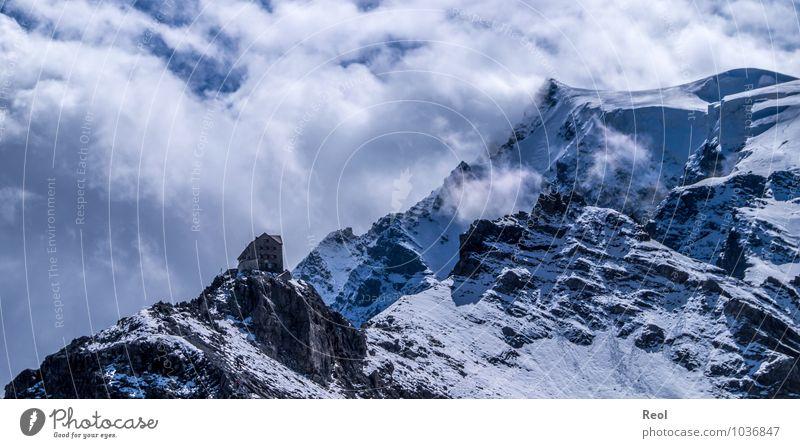 Payerhütte Himmel Natur Ferien & Urlaub & Reisen Sommer Landschaft Wolken Berge u. Gebirge Umwelt Schnee Freiheit Tourismus Erde Ausflug Europa Italien