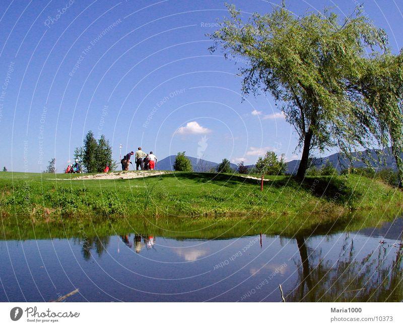 Golf GC Salzburg Natur Sport Golf