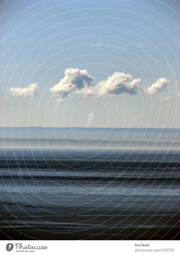 Grenzenlos.. Natur Wasser Himmel Meer blau Ferien & Urlaub & Reisen Wolken Berge u. Gebirge Freiheit See Wärme Linie Erde Küste Physik tauchen