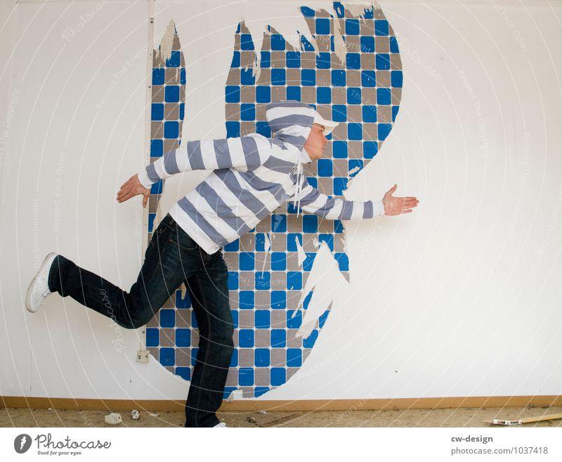 retro | FluchtVorTapetenWechsel Mensch Jugendliche Mann Freude Junger Mann 18-30 Jahre Erwachsene Leben Stil Mode Lifestyle maskulin Wohnung Freizeit & Hobby