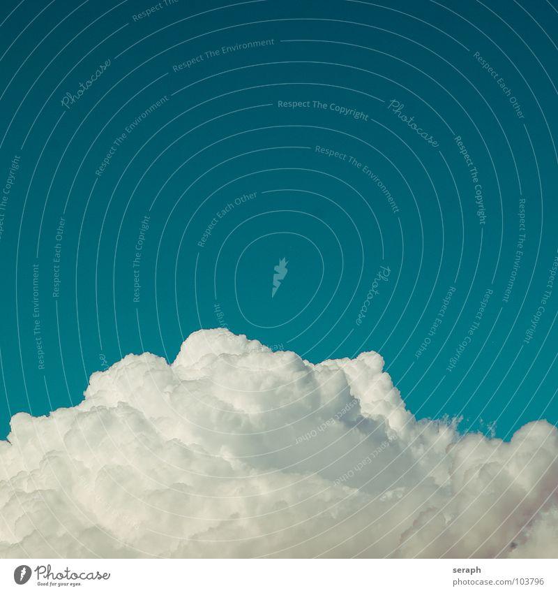 Die Wolke Wolken Himmel Freiheit Leichtigkeit leicht blau Hintergrundbild Kumulus Wind Wasserdampf Luft Schönes Wetter Strukturen & Formen fluffig weich