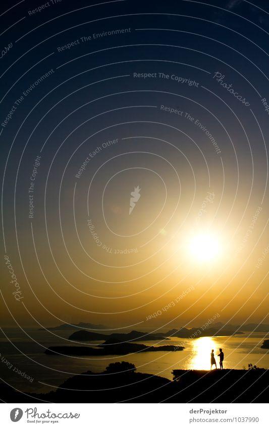 Romantik in Dalmatien Ferien & Urlaub & Reisen Tourismus Ausflug Ferne Freiheit Sommerurlaub Paar 2 Mensch 18-30 Jahre Jugendliche Erwachsene Umwelt Natur