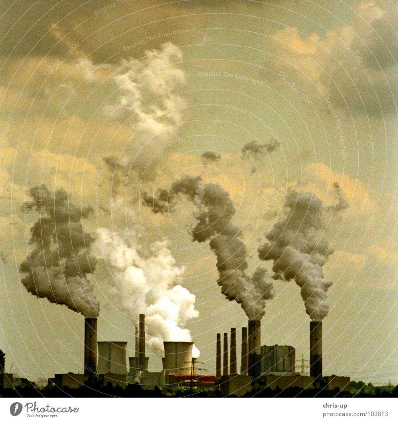 Frische Luft Himmel blau schwarz Wärme Linie braun Metall Kohle Umwelt hoch Industrie Energiewirtschaft Elektrizität Wachstum Niveau Turm