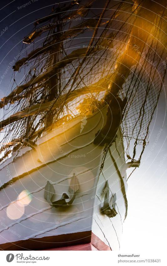 Traumschiff Ferien & Urlaub & Reisen Sommer Meer Ferne Bewegung Freiheit Horizont träumen fantastisch Ausflug Abenteuer Romantik historisch Sehnsucht Vergangenheit entdecken