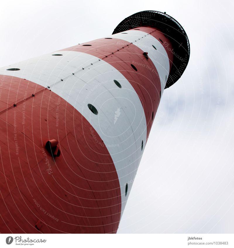 KÜSTENLOLLY Ferien & Urlaub & Reisen Einsamkeit Beleuchtung Küste leuchten Tourismus Verkehr stehen Aussicht Zeichen Sicherheit Seeufer Ostsee Wahrzeichen