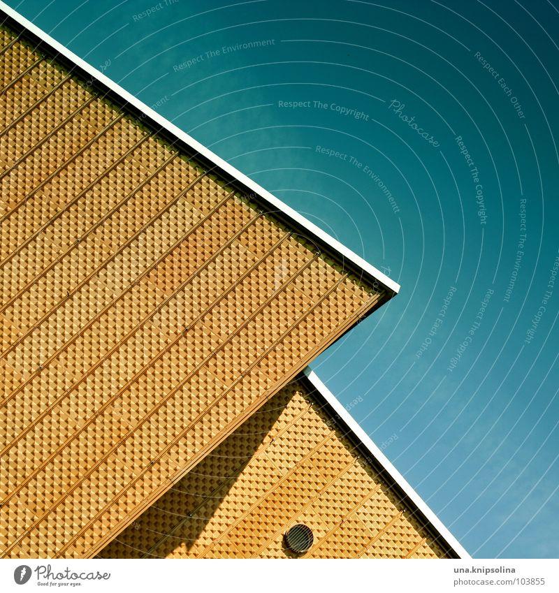 100 I o gelb Fenster Architektur Fassade Kreis Ecke rund Konzert Geometrie Öffnung Orchester Berlin Berliner Philharmonie