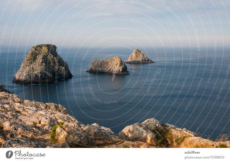 langlebig   Stepstones Himmel Natur Meer Landschaft Wolken Ferne Umwelt Küste außergewöhnlich Felsen Wellen Schönes Wetter Bucht steil Atlantik Fjord