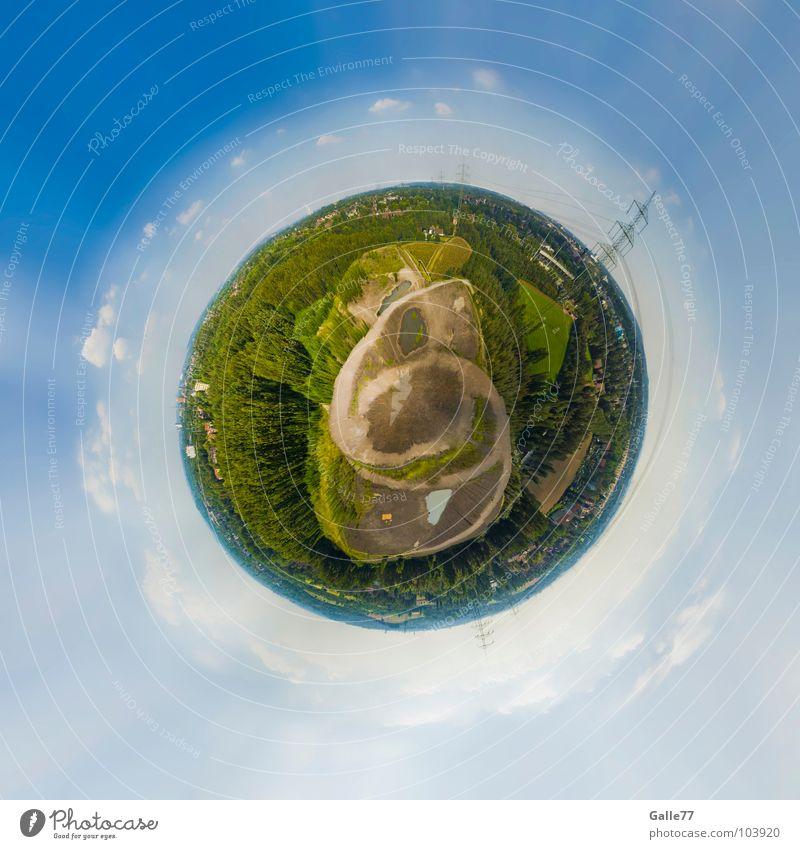 69 Planet grün bewachsen rund Existenz Leben Häusliches Leben Erde Kugel hausen grüner Planet Amerika globe world earth sphere
