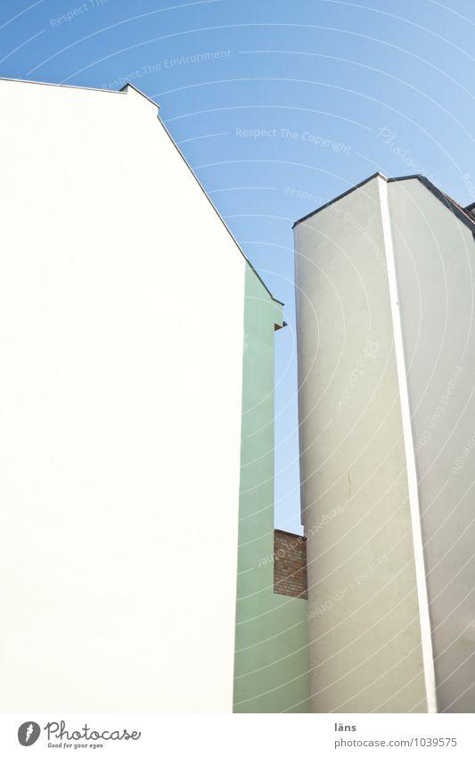 zuneigung Himmel Haus Wand Dach