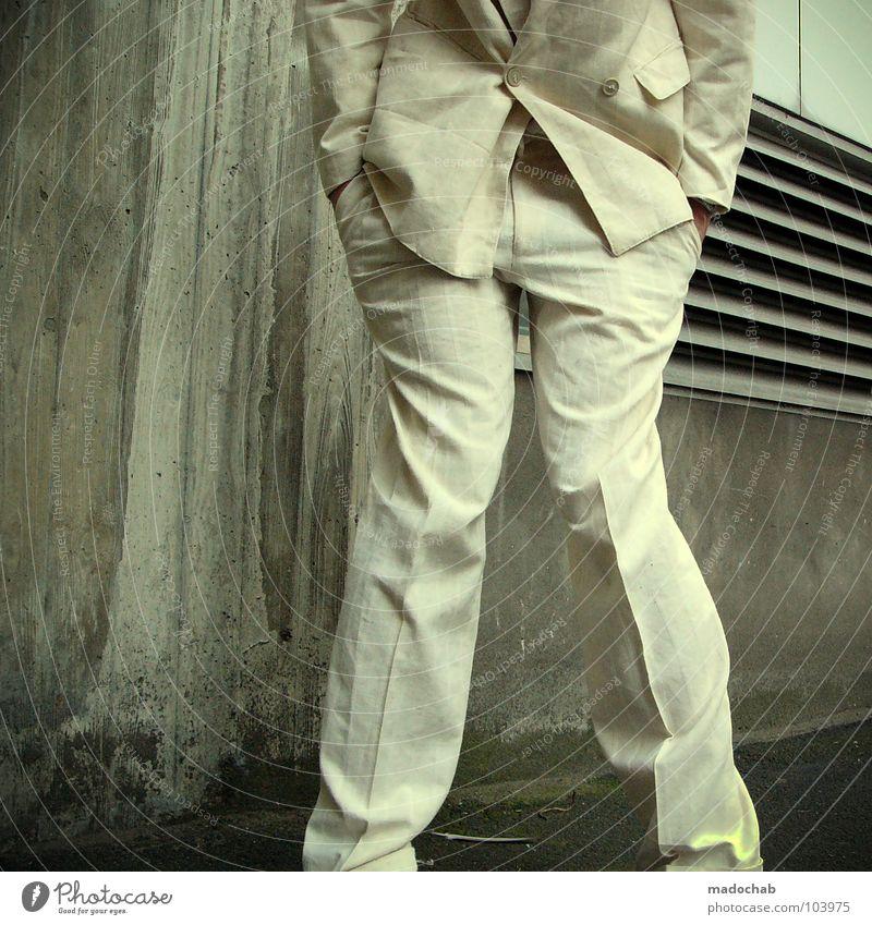 BIG BUSINESS [K*LAB*] Mensch Mann Freude Bewegung Stil lustig Mode Arbeit & Erwerbstätigkeit Tanzen maskulin mehrere Geschwindigkeit Aktion Coolness Körperhaltung Regenschirm