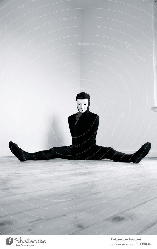 #1039839 Mensch Jugendliche weiß 18-30 Jahre schwarz Erwachsene Innenarchitektur feminin maskulin Körper sitzen 45-60 Jahre warten Bodenbelag Maske Anzug