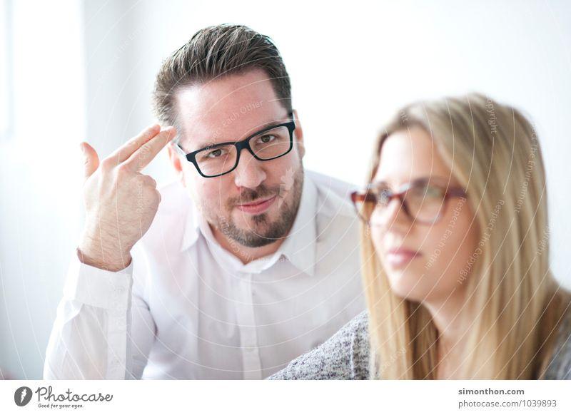 Irre Mensch Leben sprechen Paar Freundschaft Familie & Verwandtschaft Business Büro Erfolg Studium lernen Bildung Team Beruf Erwachsenenbildung Student