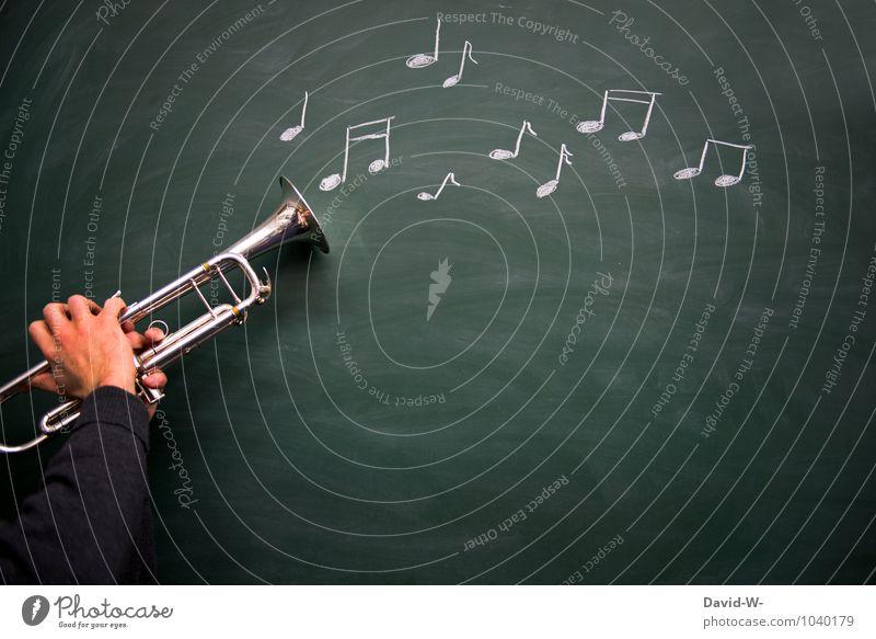 Musik optisch Freude Freizeit & Hobby Spielen Feste & Feiern Bildung Erwachsenenbildung Schule lernen Klassenraum Schüler Lehrer Student Jugendliche Hand Kunst