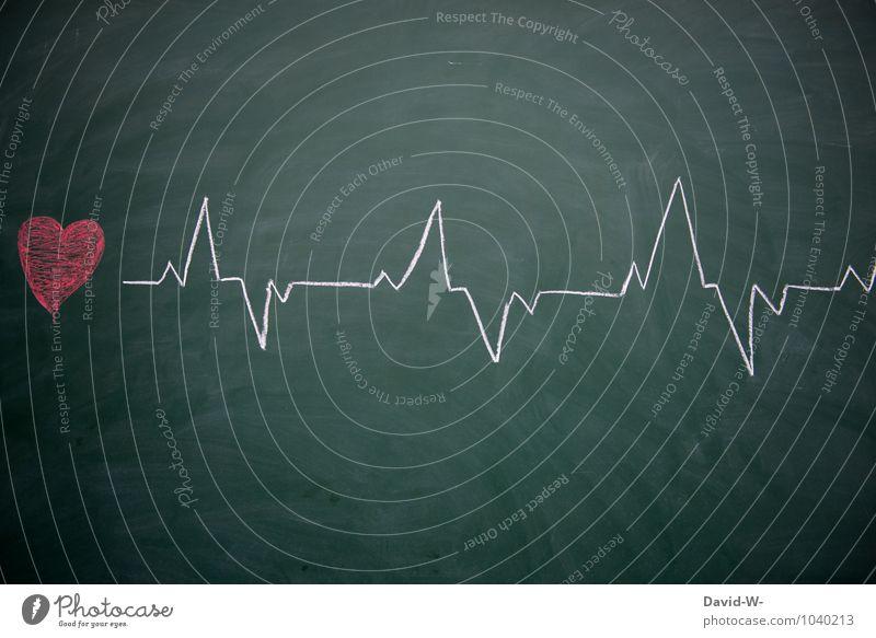 Lebenslinie Liebe Gesundheit Schule Gesundheitswesen lernen Herz Bildung Medikament Arzt Tafel Krankenhaus Zeichnung Kreide Leistung Biologie