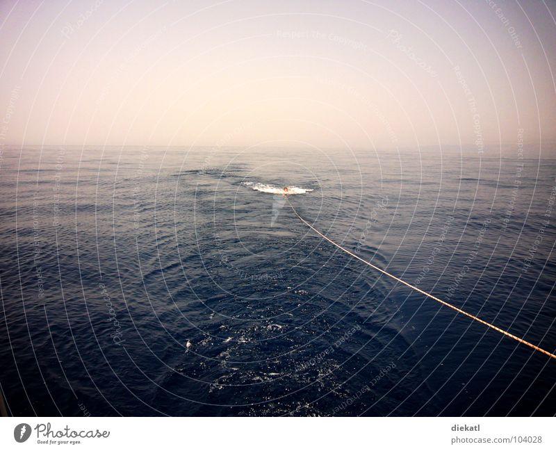meer + himmel Meer Segeln Kroatien Himmel blau Seil dunstig Wasser open water