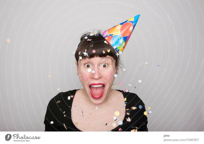 lol Mensch Jugendliche Junge Frau Freude sprechen Glück lachen Feste & Feiern Party Zufriedenheit Geburtstag frei Fröhlichkeit Energie verrückt Lebensfreude