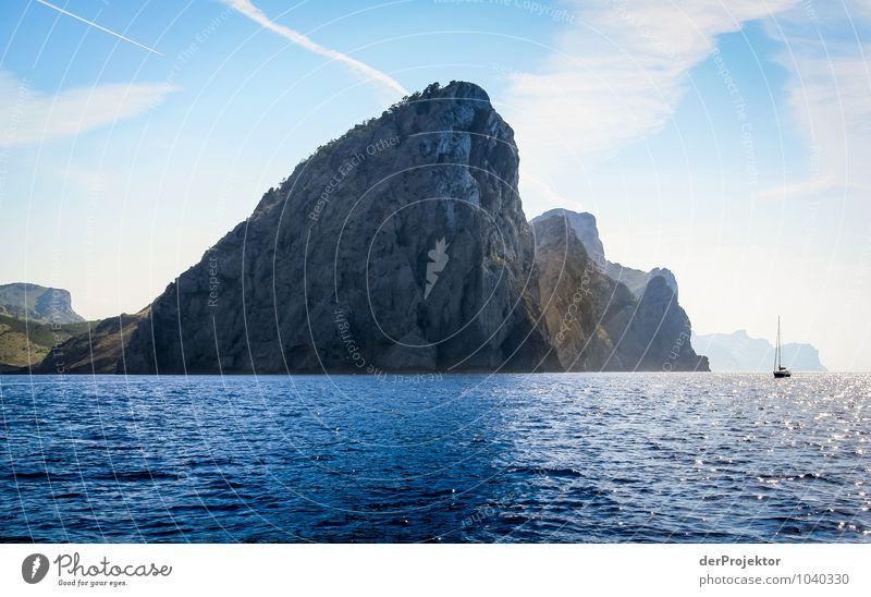 Mallorca von seiner schönen Seite 1 Natur Ferien & Urlaub & Reisen Pflanze Sommer Meer Landschaft Freude Ferne Umwelt Gefühle Küste Glück Freiheit Felsen