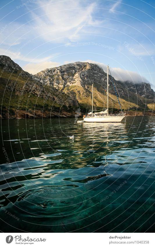 Mallorca von seiner schönen Seite 6 - Mit Segelboot Ferien & Urlaub & Reisen Tourismus Ausflug Abenteuer Ferne Freiheit Sommerurlaub Berge u. Gebirge Umwelt