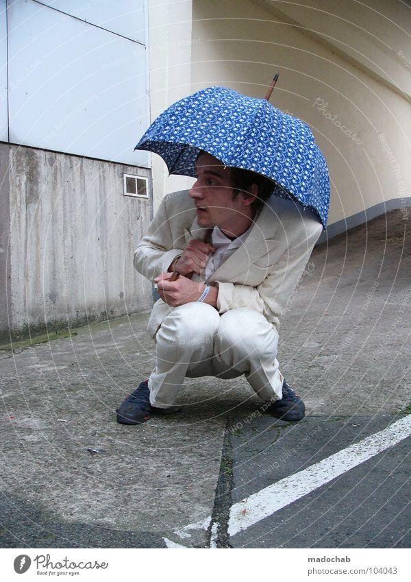 PLEASE HOLD THE LINE [K*LAB*] Mann Anzug Spazierstock Körperhaltung Mensch Sonnenbrille Aktion schick Bremen Karriere Bewegung Geschwindigkeit Tanzen