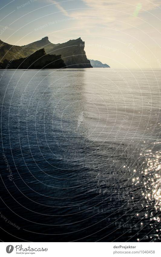 Mallorca von seiner schönen Seite 10 - Hochformat Natur Ferien & Urlaub & Reisen Pflanze Sommer Meer Landschaft Ferne Umwelt Berge u. Gebirge Gefühle Küste