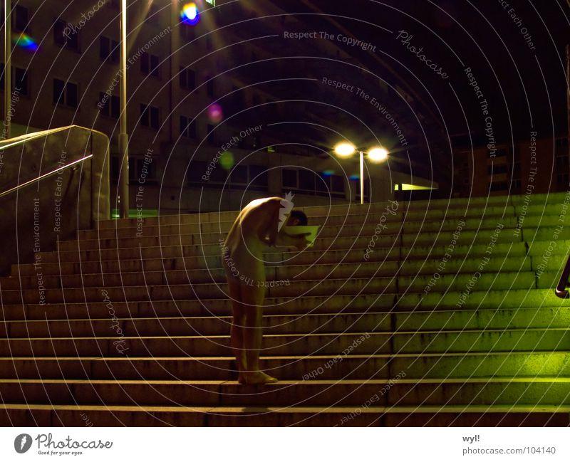 Übergang 5 Langzeitbelichtung Belichtung Licht Tunnel Kunst Kunsthandwerk Treppe Schalen & Schüsseln Jörg Wasser Dimmension Ende Beginn Akt Hinterteil Rücken