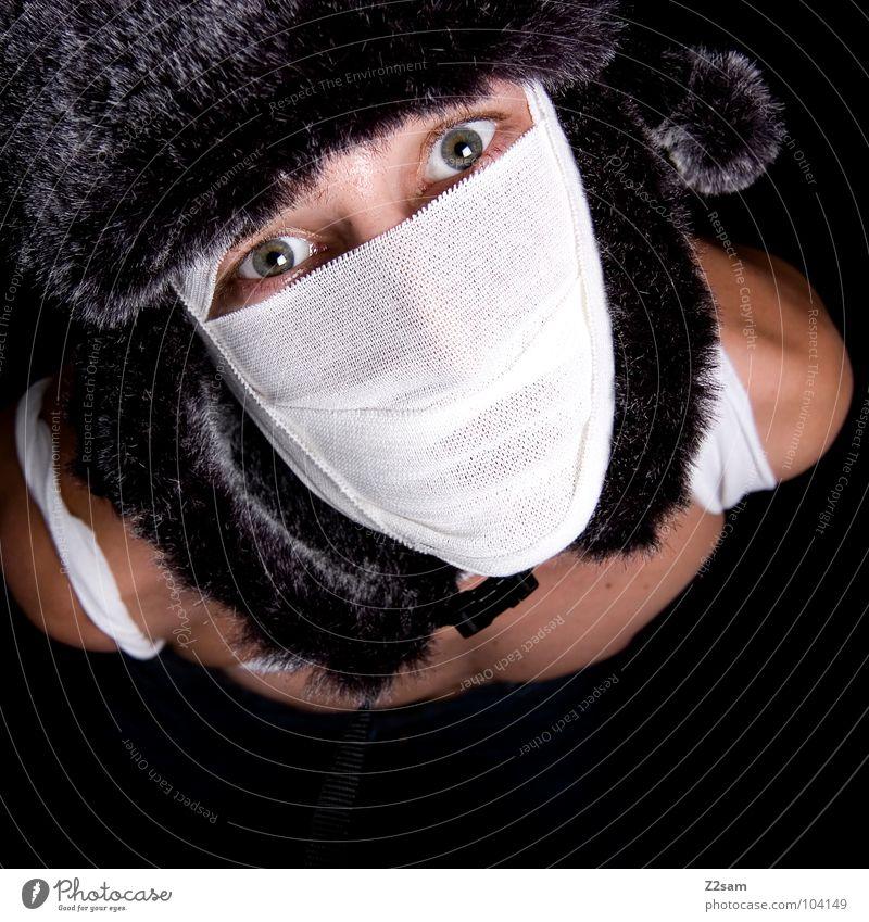 """""""Die Mumie"""" russia konserviert Schleier geheimnisvoll mystisch gefährlich böse außergewöhnlich Mann Oberkörper Bart Auferstehung verrenken Todesblick"""