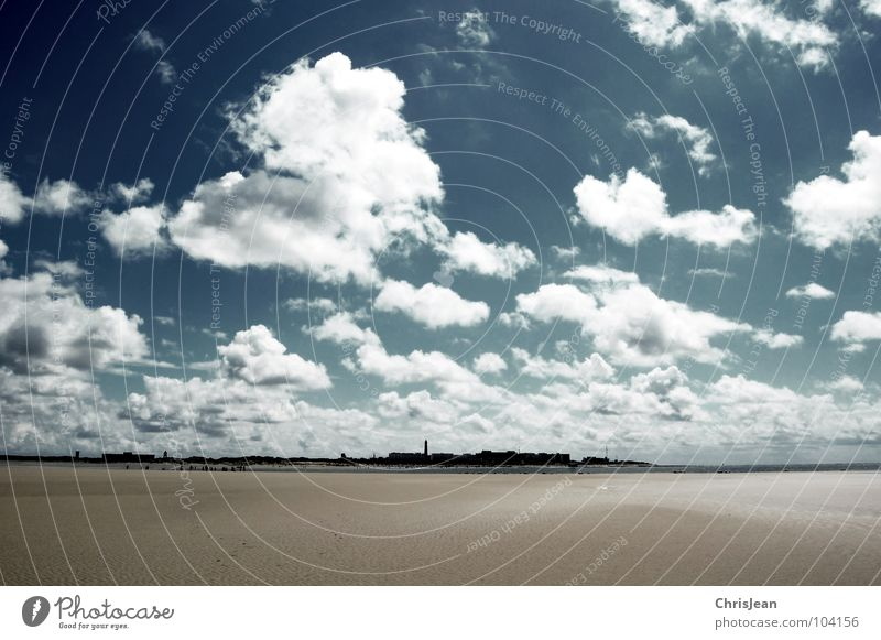 Titellos Strand Meer Insel wandern Sand Himmel Wolken Horizont Wetter Küste fliegen gehen laufen dunkel blau tief rollen gegen sky blue ziehen
