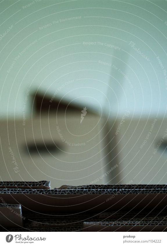 Auspacken. Finale. Umzugskarton Karton Papier Pappschachtel Kiste Tapetenwechsel Örtlichkeit Handwerk Kraft Umzug (Wohnungswechsel) Stapel offen fangen