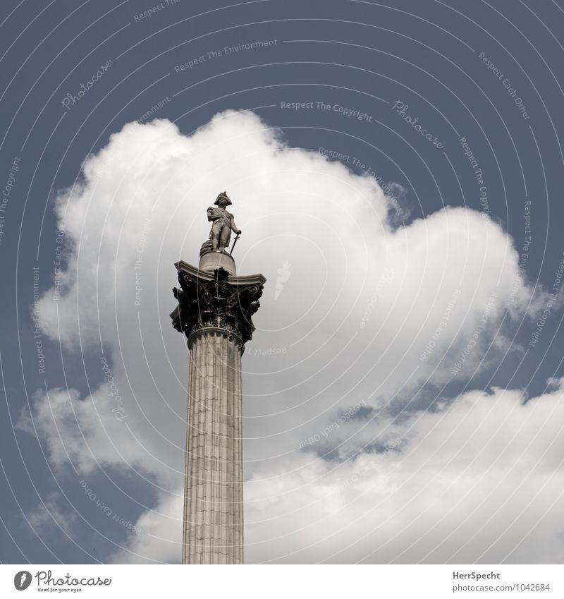 Cloudy Horatio Himmel Ferien & Urlaub & Reisen Stadt blau weiß Wolken grau Kunst Tourismus stehen Platz Schönes Wetter historisch Bauwerk Denkmal Hauptstadt