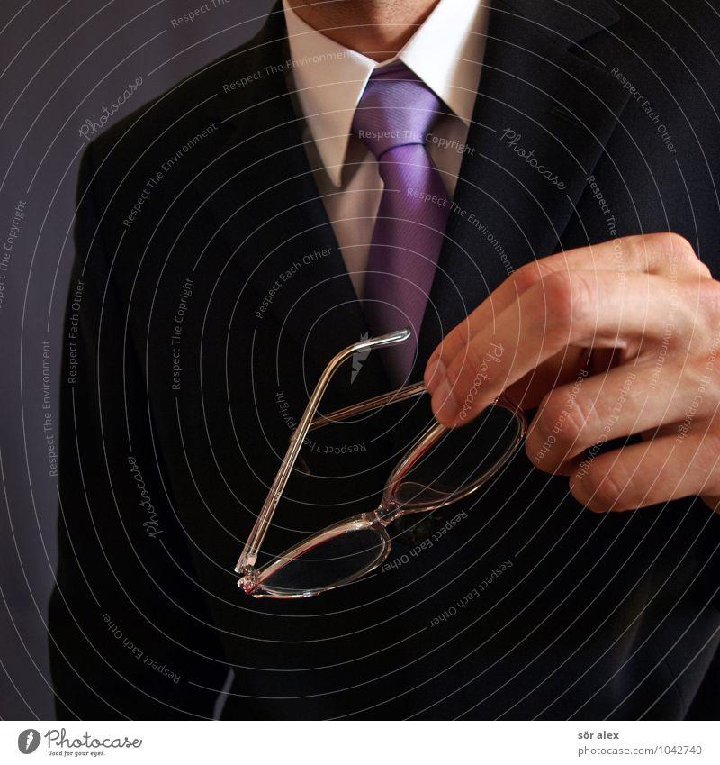 Herr Mustermann Mensch Mann Hand Erwachsene Arbeit & Erwerbstätigkeit maskulin Business Büro Erfolg Brille Macht Beruf Geldinstitut Dienstleistungsgewerbe