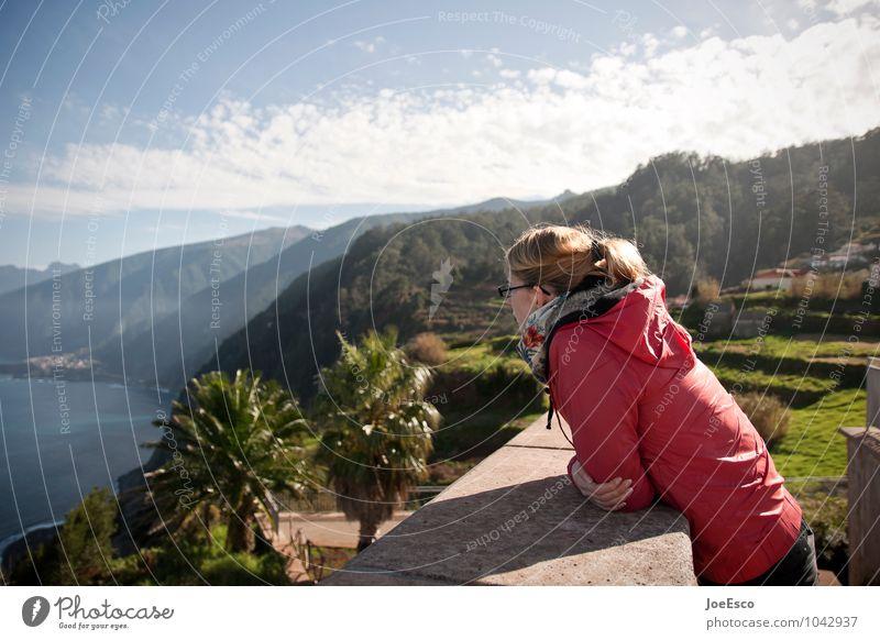 #1042937 Mensch Frau Himmel Ferien & Urlaub & Reisen Jugendliche Pflanze Sommer Sonne Erholung Meer Wolken 18-30 Jahre Ferne Erwachsene Berge u. Gebirge Küste