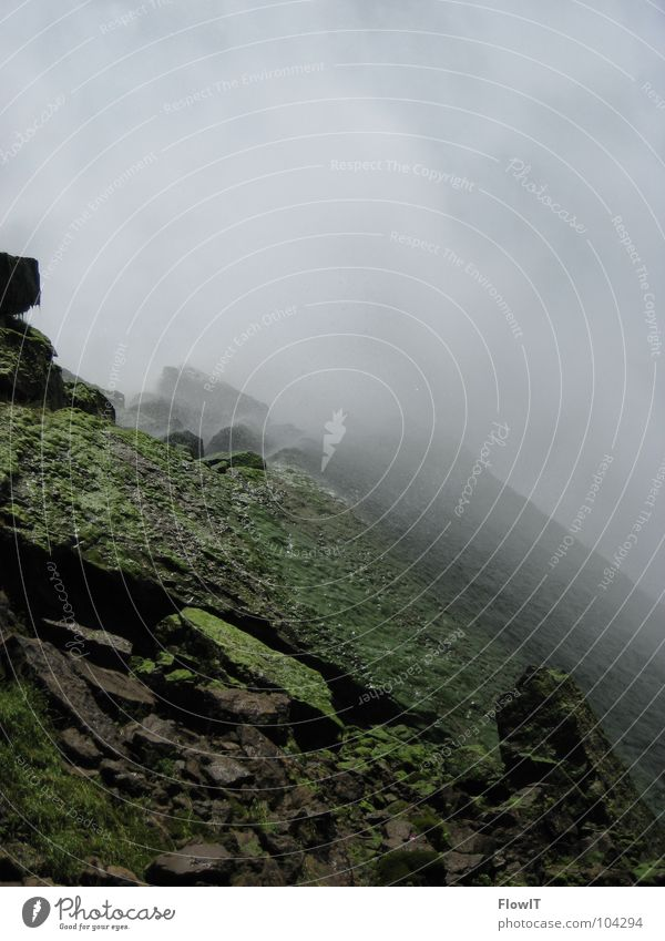 Niagara Falls(US)2 Gischt Algen Wasser Niagara Fälle Wasserfall Fluss Maid of the Mist Buffalo Stein