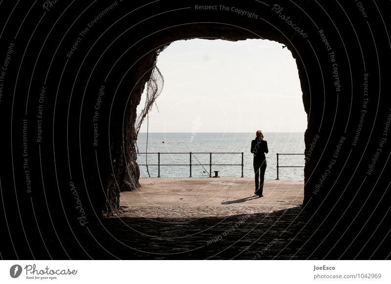#1042969 Freizeit & Hobby Angeln Ausflug Abenteuer Mensch Meer Stein Erholung gehen träumen Traurigkeit warten dunkel kalt rebellisch Kraft Ausdauer standhaft